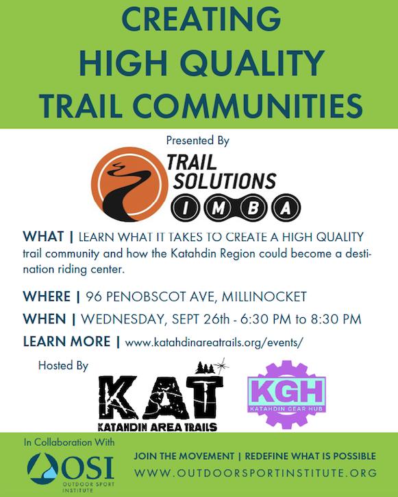 Trail Community New