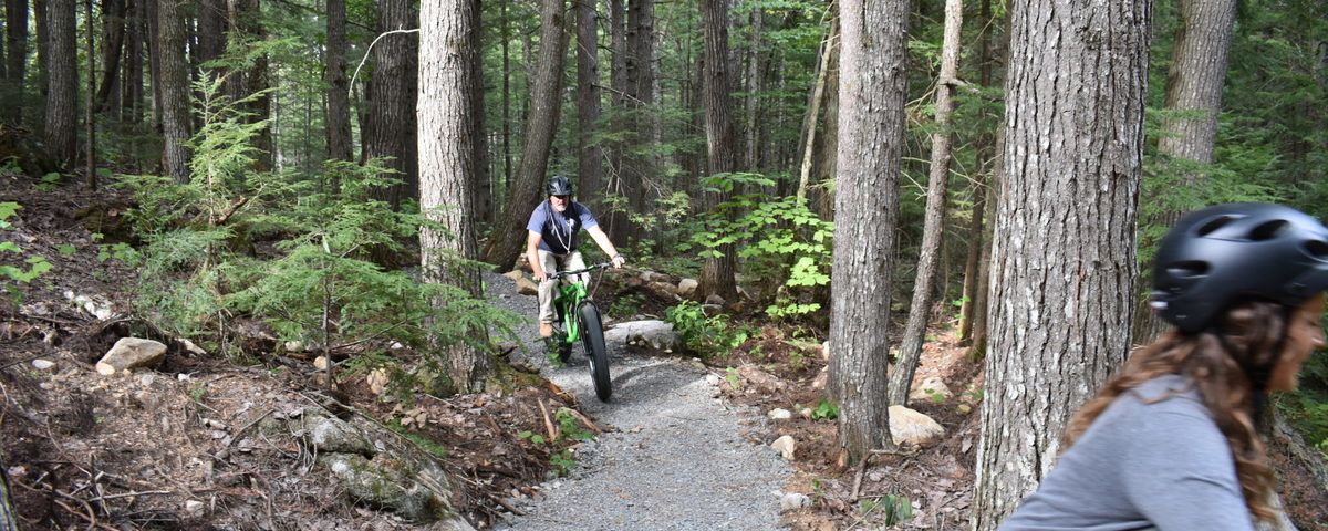 Riding at Hammond Ridge